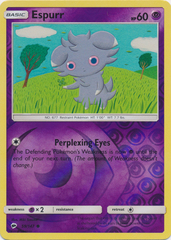 Espurr - 59/147 - Common - Reverse Holo
