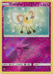 Cutiefly - 95/147 - Common - Reverse Holo
