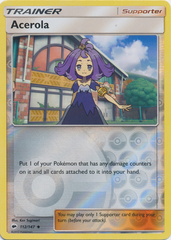 Acerola - 112/147 - Uncommon - Reverse Holo on Channel Fireball