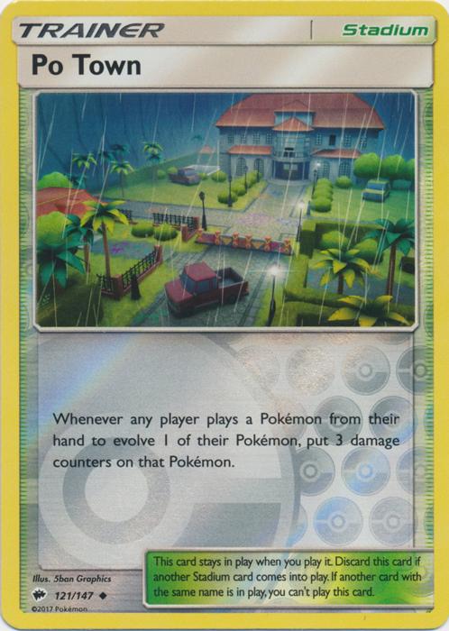 Po Town - 121/147 - Uncommon - Reverse Holo