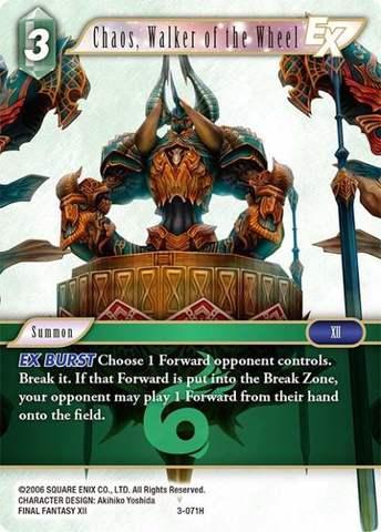 Chaos, Walker of the Wheel - 3-071H