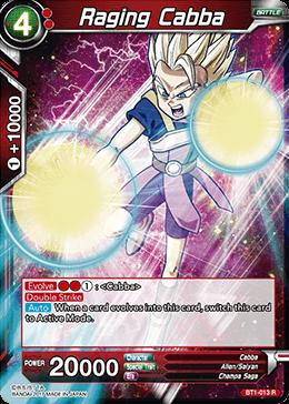 Raging Cabba - BT1-013 - R