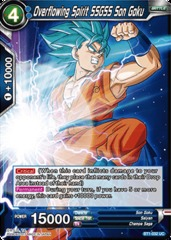 Overflowing Spirit SSGSS Son Goku - BT1-032 - UC