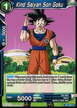 Kind Saiyan Son Goku - BT1-033 - C