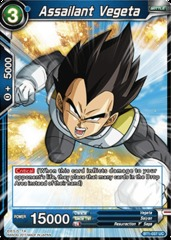Assailant Vegeta - BT1-037 - UC on Channel Fireball