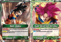 Son Goku // Super Saiyan God Son Goku - BT1-056 - UC