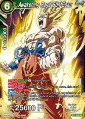 Awakening Rage Son Goku - BT1-059 - SR on Channel Fireball
