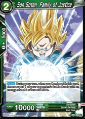 Son Goten, Family of Justice - BT1-063 - C on Channel Fireball