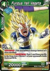 Furious Yell Vegeta - BT1-065 - UC
