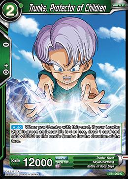 Trunks, Protector of Children - BT1-069 - C