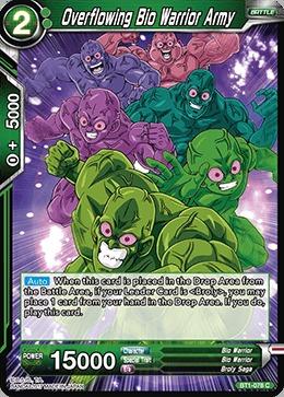 Overflowing Bio Warrior Army - BT1-078 - C