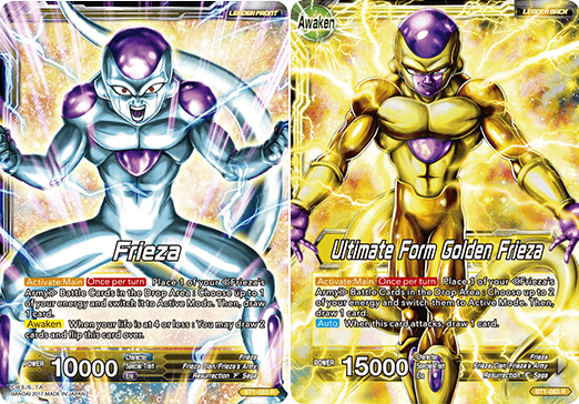 Frieza // Ultimate Form Golden Frieza - BT1-083 - R
