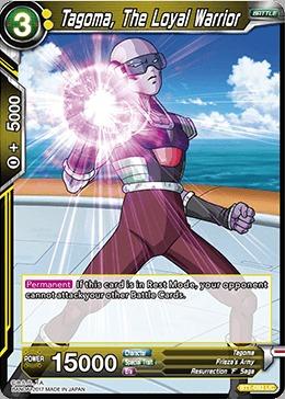 a1c45cf38ba CoreTCG - Tagoma, The Loyal Warrior - BT1-093 - UC - Dragon Ball ...