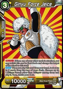 Ginyu Force Jeice - BT1-098 - C
