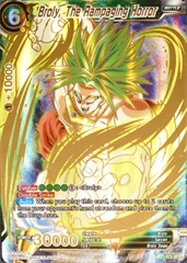 Broly, The Rampaging Horror - Special Rare - BT1-073 - SPR on Channel Fireball