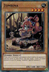 Zombina - COTD-EN033 - Common - 1st Edition