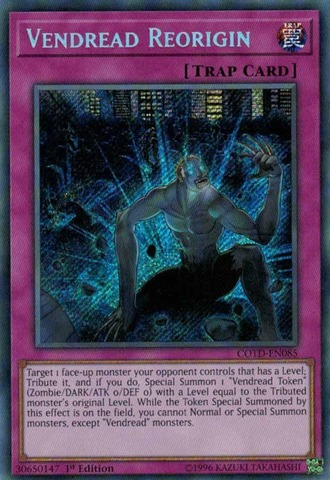 Vendread Reorigin - COTD-EN085 - Secret Rare - 1st Edition