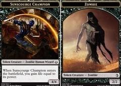 Sunscourge Champion // Zombie Token