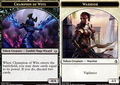 Champion of Wits // Warrior Token