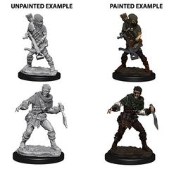 Deep Cuts Unpainted Miniatures - Bandits