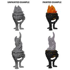 Deep Cuts Unpainted Miniatures - Braziers