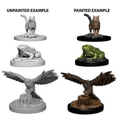 Deep Cuts Unpainted Miniatures - Familiars