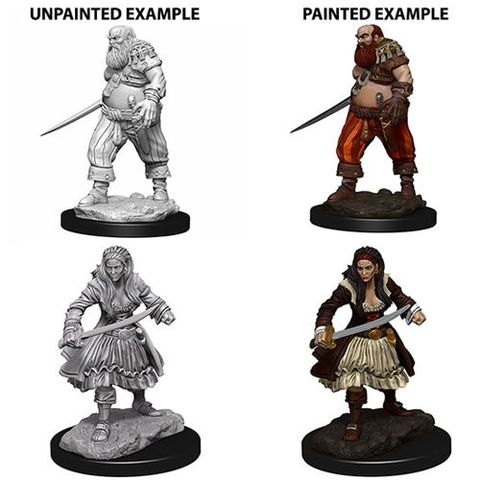 Pathfinder Battles Unpainted Minis - Pirates