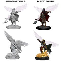 Aasimar Wizard - Dungeons & Dragons (Nolzur's Marvelous Miniatures) - Unpainted