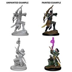 D&D Unpainted Minis - Elf Male Bard