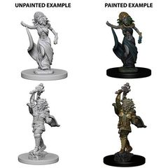 Dungeons And Dragons: Nolzur's Marvelous Unpainted Miniatures - Medusas