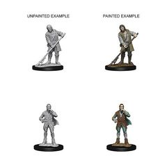 Pathfinder Battles Unpainted Minis - Towns People (Farmer/Aristocrat)