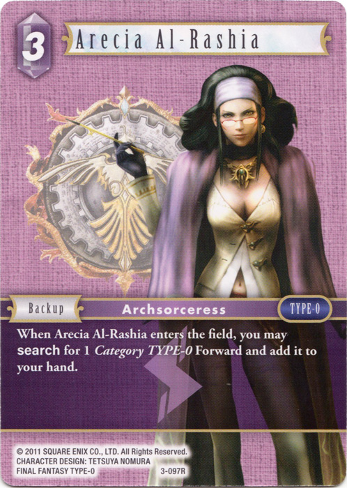 Arecia Al-Rashia - 3-097R - Foil
