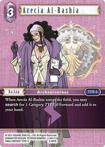 Arecia Al-Rashia (Alt Art) - 3-097R - Foil