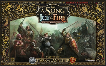 A Song Of Ice And Fire Starter Stark Vs Lannister