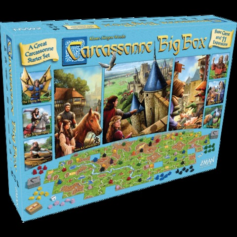 Carcassonne - Big Box 2017 (Z-Man Games)