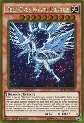 Deep-Eyes White Dragon - MVP1-ENG05 - Gold Rare - Unlimited Edition