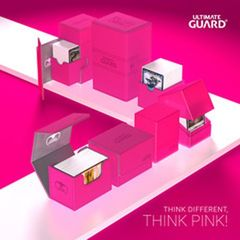 Ultimate Guard Arkhive 400+ Standard Size Xenoskin Pink