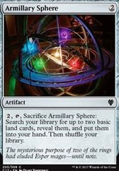Armillary Sphere on Channel Fireball