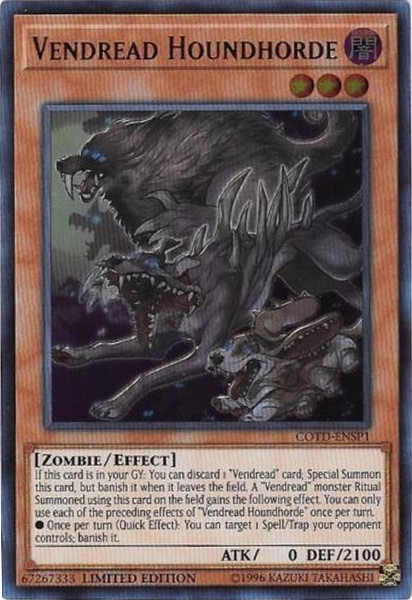 YUGIOH BACK TO THE FRONT RARE NEAR MINT VARIOUS ED COTD-EN077
