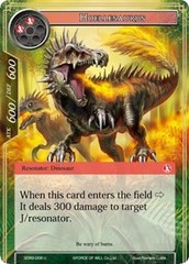 Hoellesaurus - SDR2-008 - U on Channel Fireball