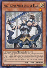 Protector with Eyes of Blue - MP17-EN011 - Common - 1st Edition
