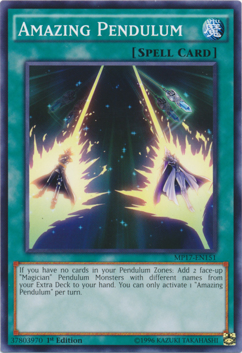 Amazing Pendulum - MP17-EN151 - Common - 1st Edition