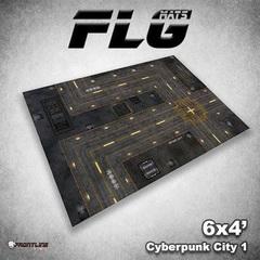 Frontline Gaming - Cyberpunk City 1 4X6