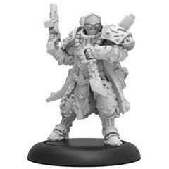 Cygnar - Trencher Warcaster Lieutenant