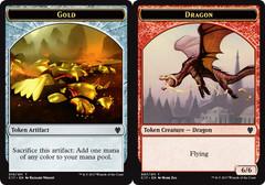Gold Token // Dragon Token (6/6)