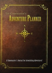 Gamemaster's Journal: Adventure Planner