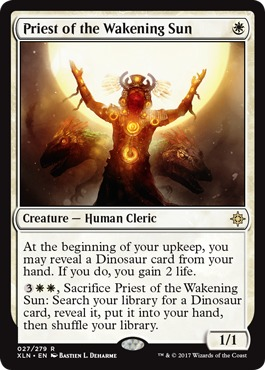 Priest of the Wakening Sun - Foil