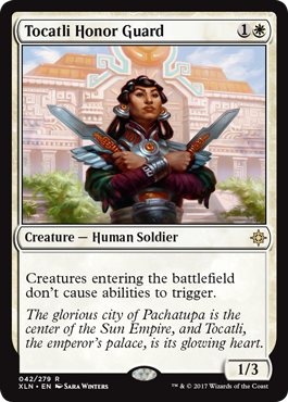 Tocatli Honor Guard - Foil