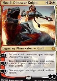 Huatli, Dinosaur Knight - Foil - Planeswalker Deck Exclusive