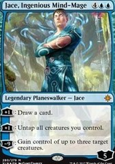 Jace, Ingenious Mind-Mage - Planeswalker Deck Exclusive